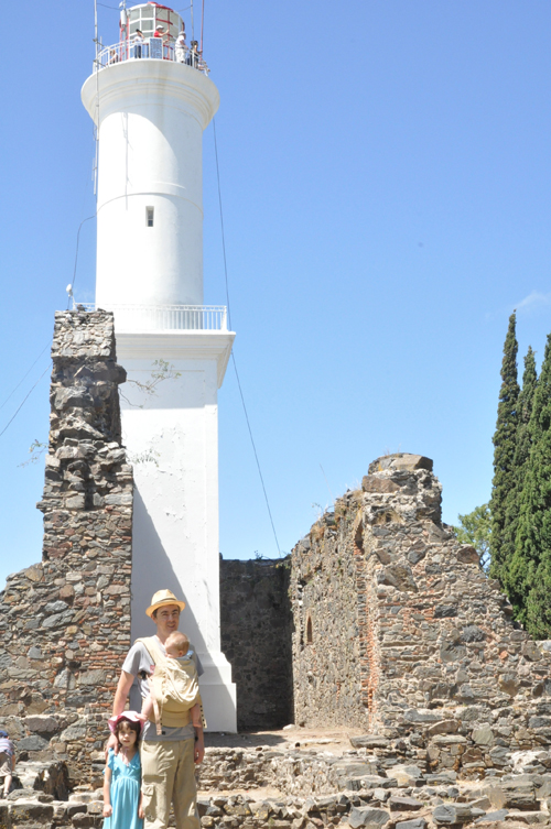 The lighthouse at Colonia del Sacramento