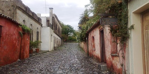 Cobbled streets in Colonia del Sacramento