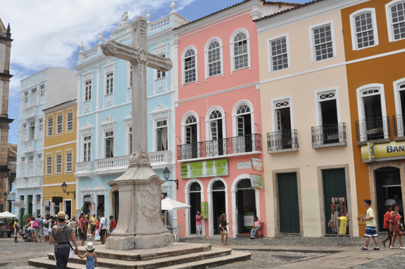 The historic centre of Salvador, the Pelourinho