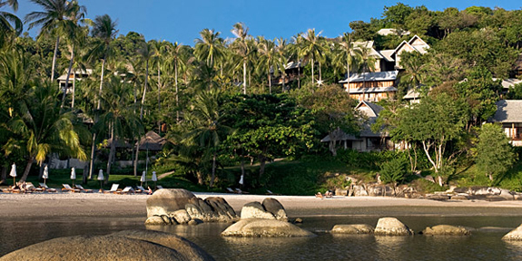 Kamalaya's stylish suites and villas are hidden amongst the tropical jungle