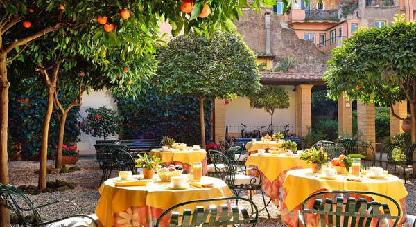 i-escape blog / Hotel Santa Maria Rome