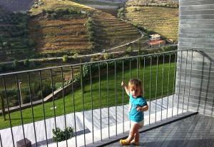 Cormac enjoying the view