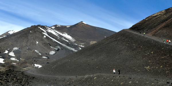 Exploring Mount Etna