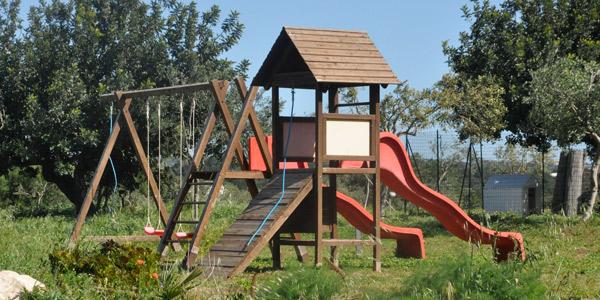 Masseria Ciancio's playground