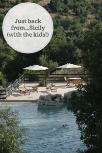 The i-escape blog / Just back from Sicily with the kids