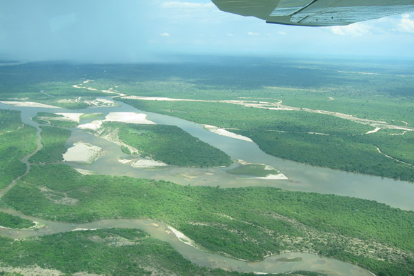 Aerial View of Selous