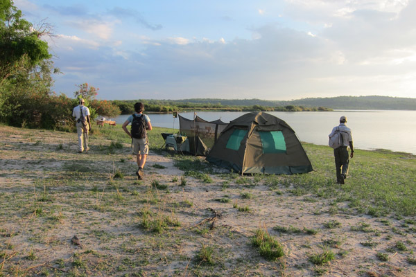 Fly Camping at Sand Rivers Selous