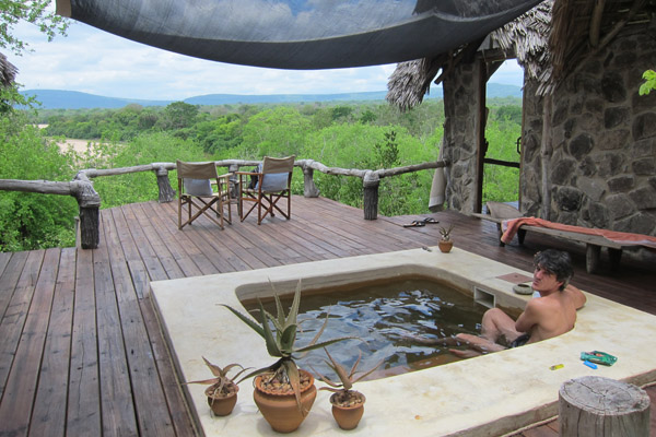 Plunge Pool at Sand Rivers Selous