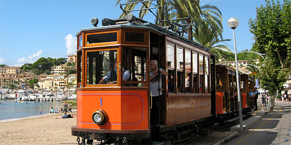 Tram at Port de Sóller