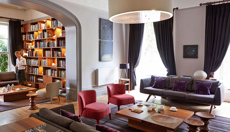 i-escape blog / Top 10 dog-friendly hotels and cottages in the UK / Malmaison Cheltenham