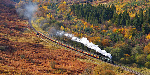 North York Moors steam train
