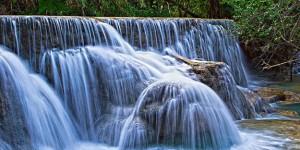 Kuang Si waterfalls, near Luang Prabang