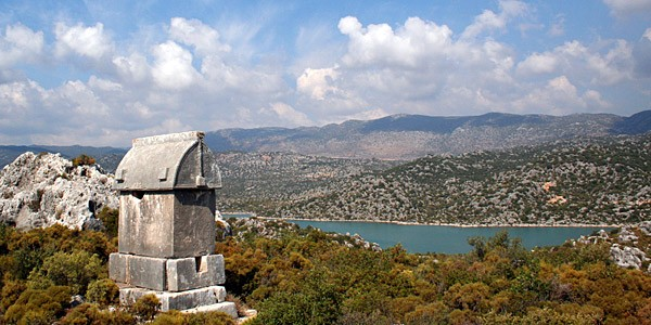 Lycian tomb nr Kevoka
