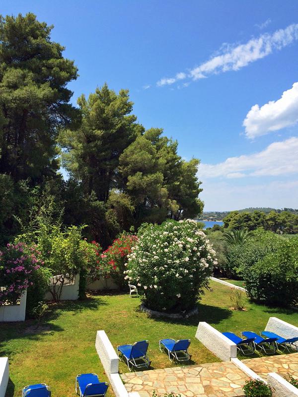 Skiathos Holidays garden