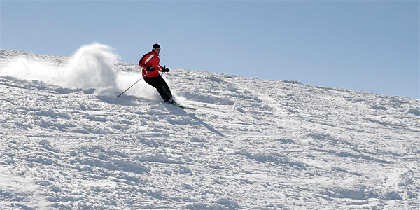 Skiing at Agriolefkes