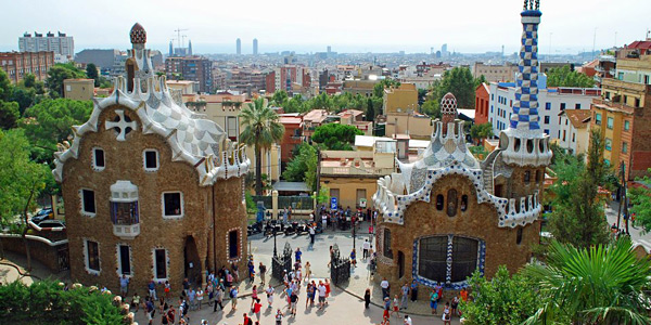 into Barcelona