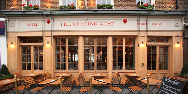 i-escape blog / The Grazing Goat