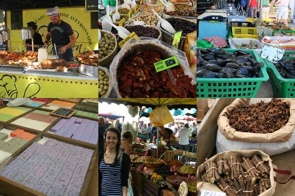 Uzes-market