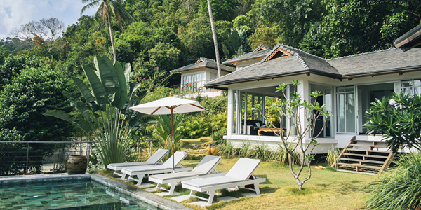 i-escape blog / Koh Pha Ngan Pool Villas