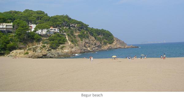 Begur beach