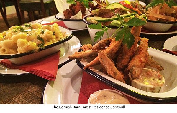 The Cornish Barn Artist Residence Cornwall