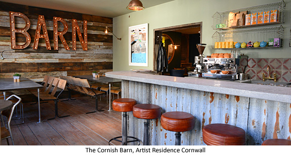 The Cornish Barn-Artist Residence Cornwall