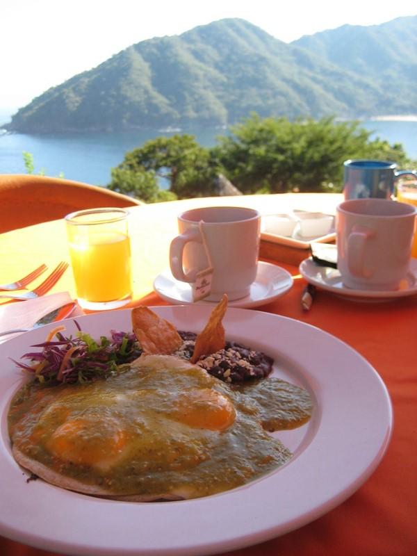 Breakfast at Verana
