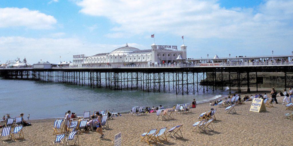 i-escape blog / Brighton beach