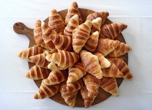 At The Chapel's croissants