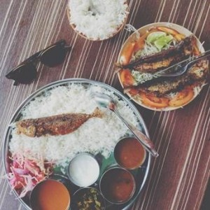 Indian seafood curry