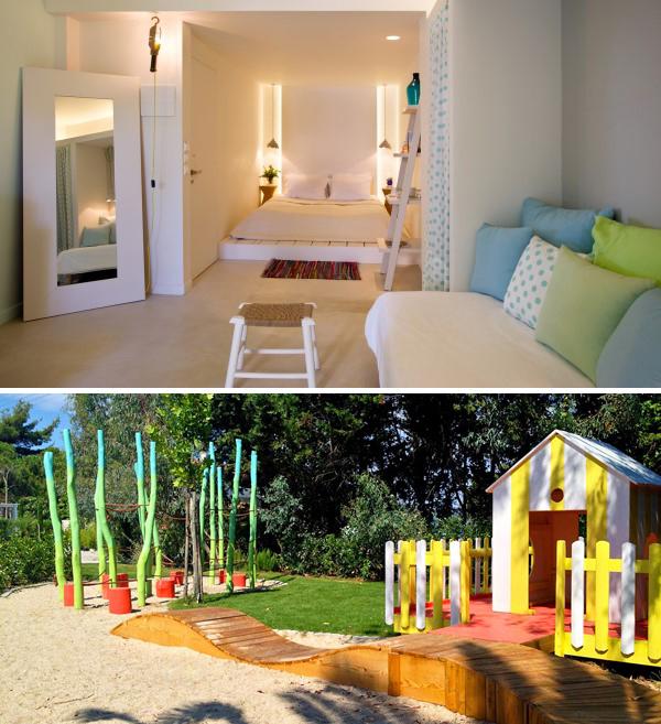 Best holidays for toddlers the i escape blog for Design hotel ekies all senses