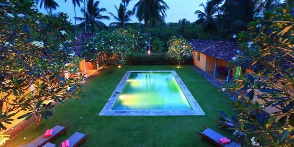 The Last House pool
