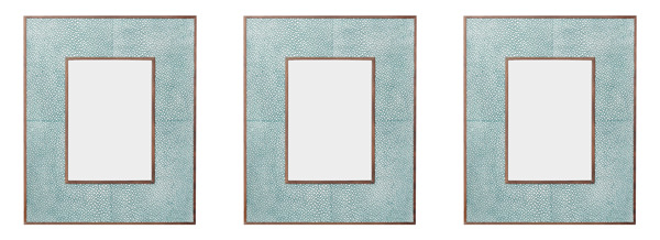 Shagreen frame from OKA
