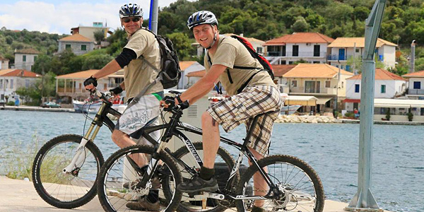 i-escape: Mountain biking from Nidri, Lefkas, Greece