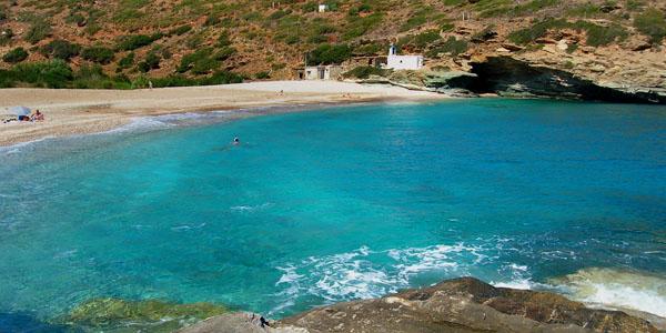 Vitali Beach, Andros