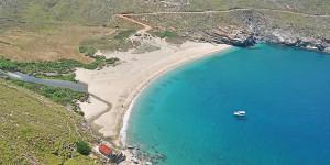 i-escape: Onar and Ahla Beach, Andros, Greece