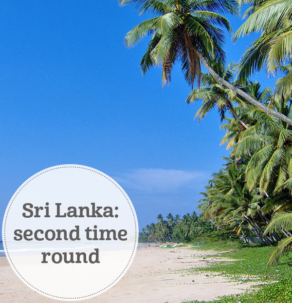 The i-escape blog / Sri Lanka: second time round