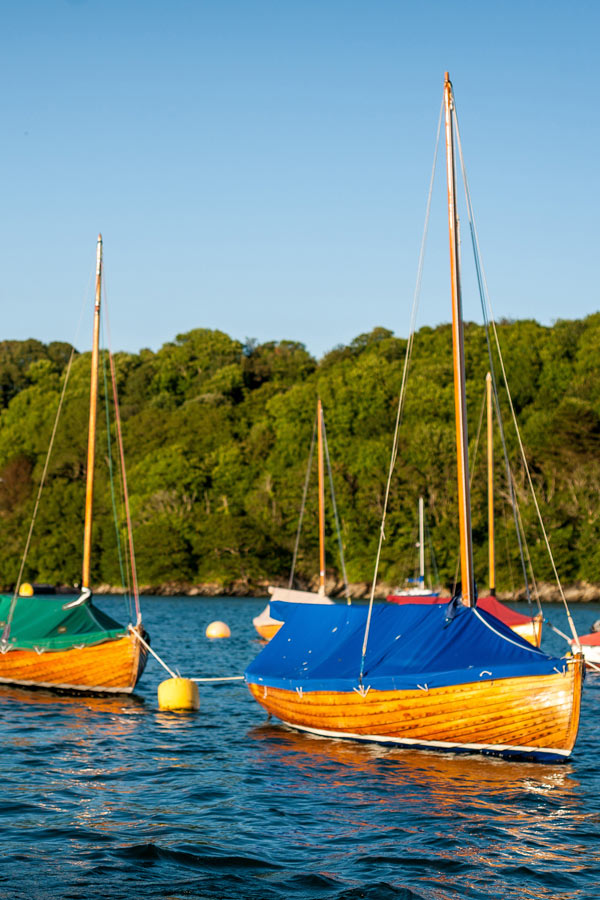 Fowey River boats