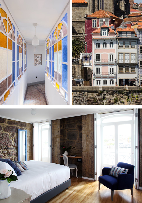 i-escape: 1872 River House, Porto