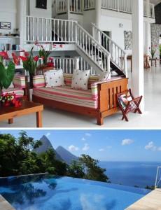 i-escape: Bananaquit Houe, St Lucia