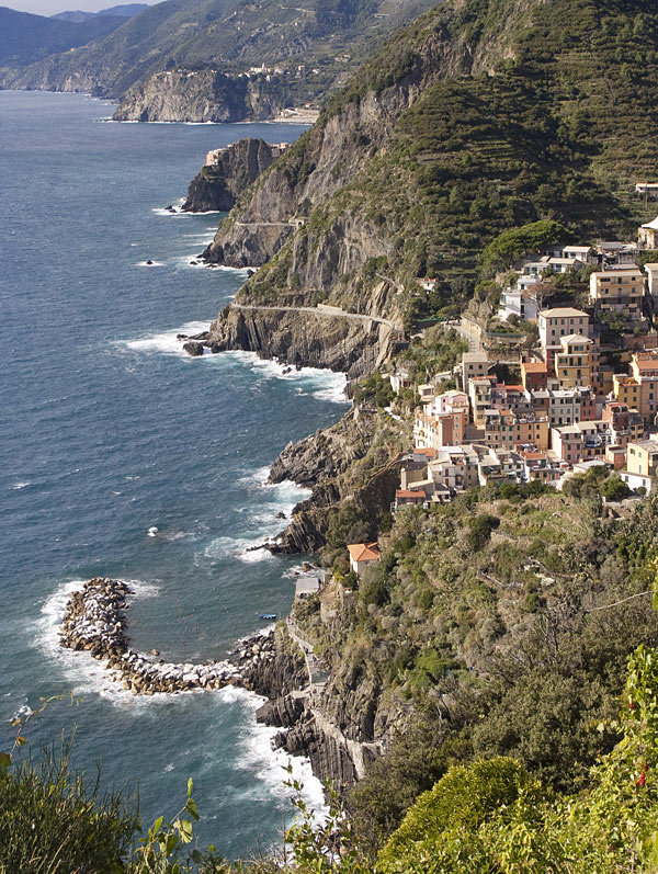Liguria coastline