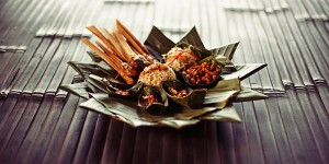 Bambu Indah fish satay