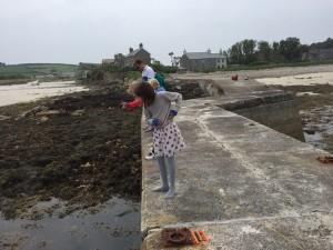 i-escape blog / The kids loved Crabbing