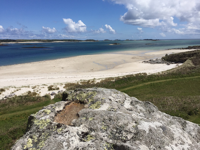i-escape blog / A family holiday on the Isles of Scilly / Tresco's beaches