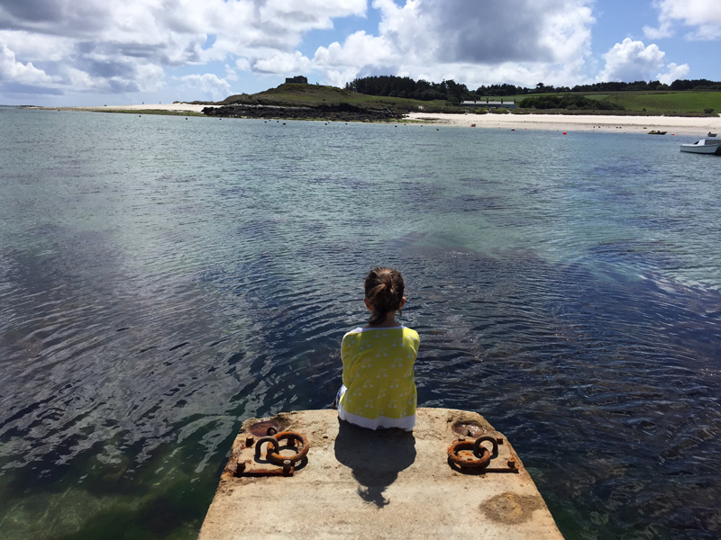 i-escape blog / A family holiday on the Isles of Scilly / Taking time to contemplate at the end of England