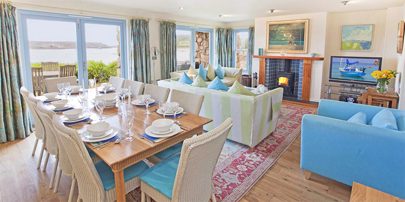 i-escape blog / A family holiday on the Isles of Scilly / Inside the Flying Boat Cottages
