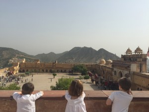 i-escape blog / The best view from Amber fort