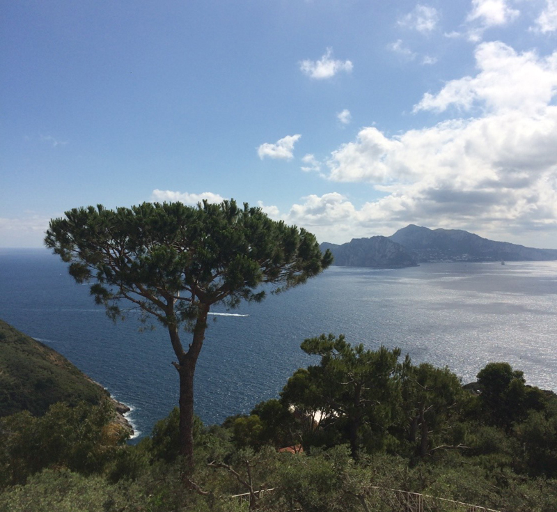 i-escape blog / Views to Capri