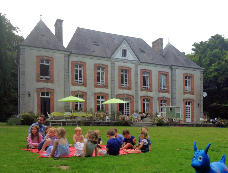 i-escape blog \ Family hideaways for October half-term \ La Castel, Normandy