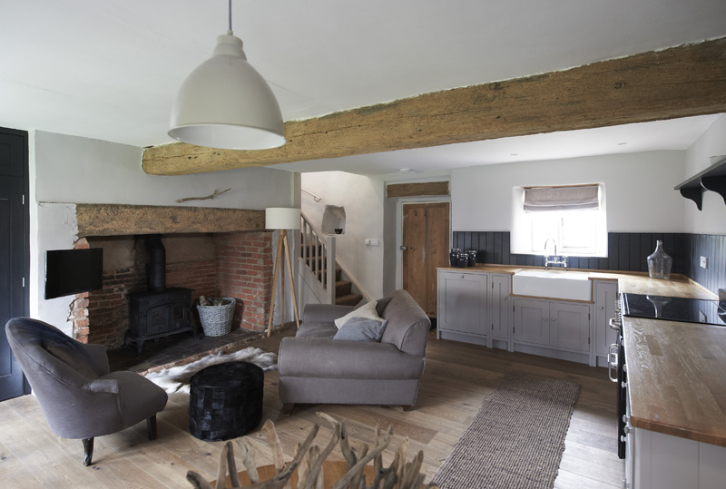 i-escape blog / 8 romantic UK getaways / Cartshed Cottages, Norfolk